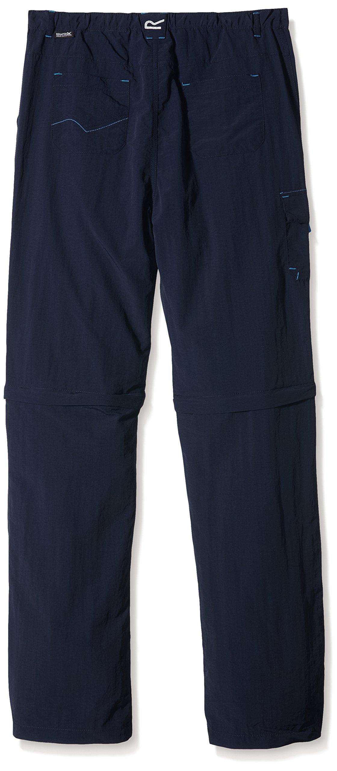 Regatta Kids' Sorcer Zip-Off Trousers 2