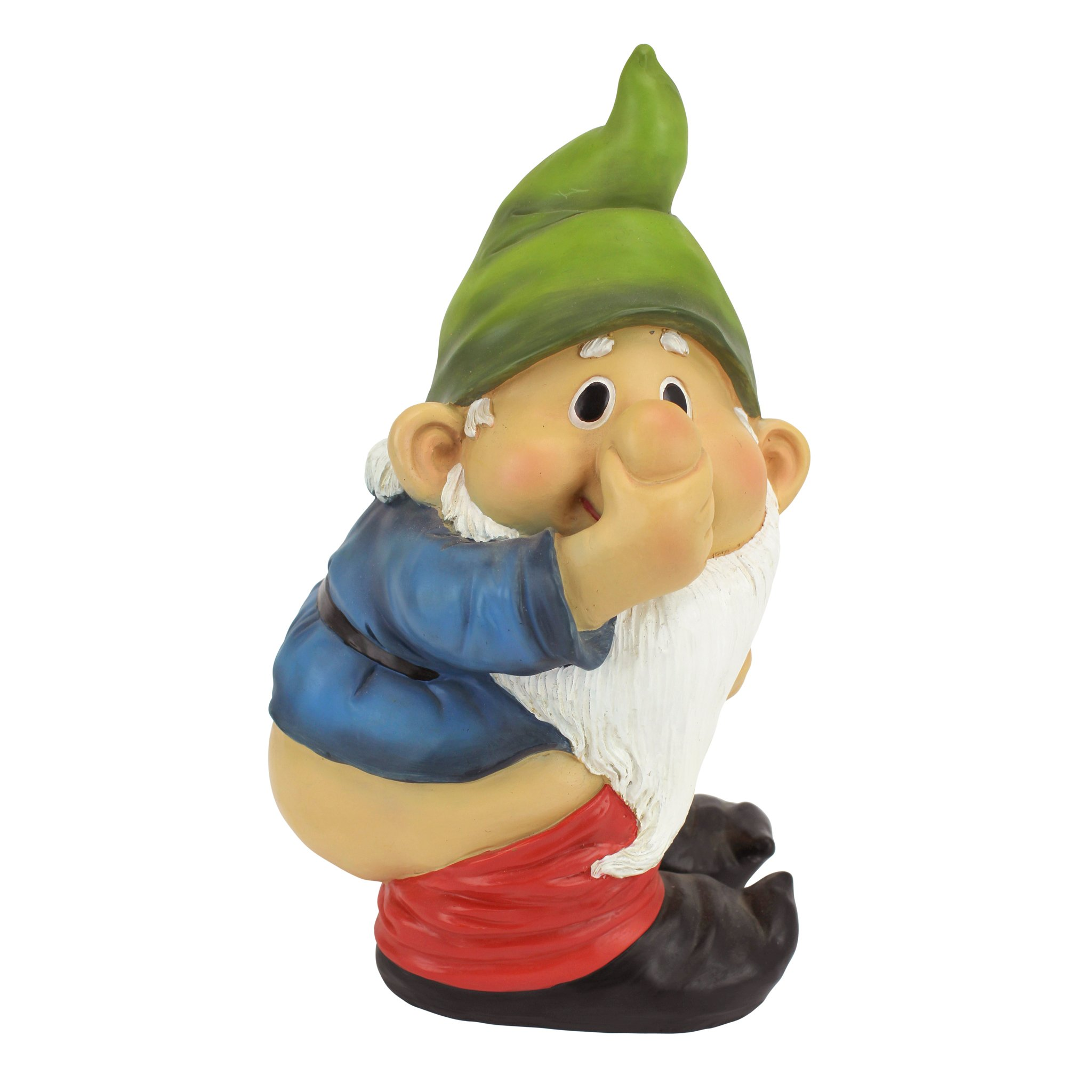 Gnome In Garden: Stinky The Garden Gnome