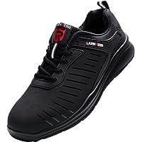 LARNMERN PLUS Chaussure de Securite Homme Femme Legere Baskets de Sécurité Embout Acier Protection Anti-Perforation…