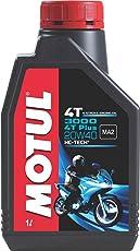 Motul 3000 4T Plus 20W40 HC Tech Engine Oil for Bikes (1 L)