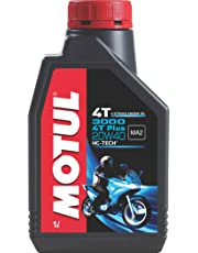 Motul 3000 4T Plus 20W40 HC Tech Engine Oil for Bikes (1 L)
