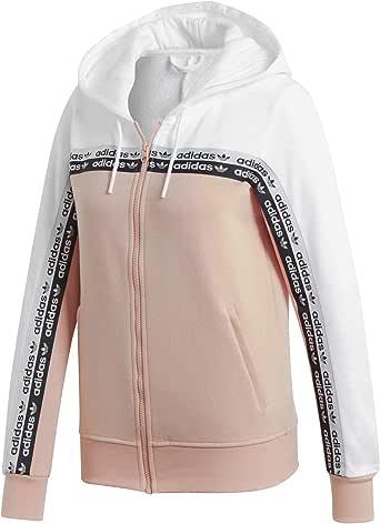 Adidas Damen Originals Vocal Track Top Full Zip Hoodie