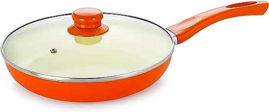 Nirlon Aluminium Cookware Set, 1.5 Litre, Orange