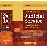 Singhal's Solved Papers Of Judicial Service Preliminary Examination book