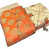 KrishnaEnterprise Women's Banarasi Jakad & Santoon & Chanderi Unstitched Salwar Suit