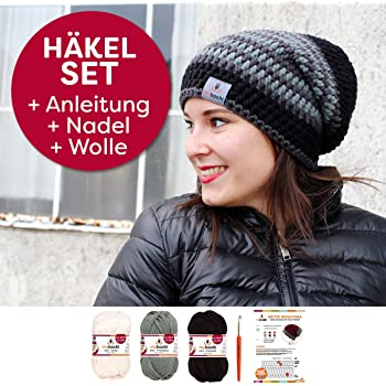 Myboshi No1 Loop Schal New Haven Strickset 5x 50g Wolle Anleitung
