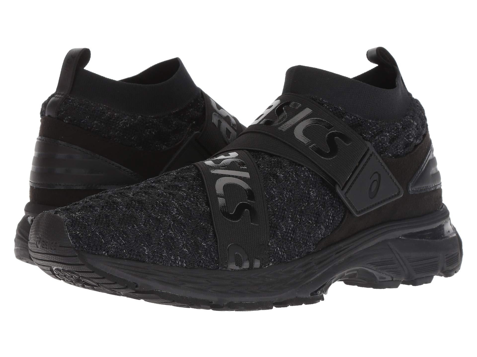 71o0GHmSnVL - ASICS Mens Gel-Kayano 25 Obistag Black/Carbon Running Shoe - 9