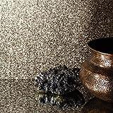 Wandtapete 701367, warmes Gold-Grau mit Glitzer-Textur