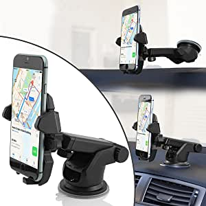 J3 Suction Cup Carmount for Smartphone A3 S8 S6 Wicked Chili Universal Car Mount Phone Holder for Samsung S9 S7 J5 Made in Germany, Compatible with Cover and Case A5 Edge
