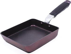 Techef Tamagoyaki Japanese omelette pan/Egg pan, Coated with DuPont Teflon Select–Colour Collection/Non-Stick coating (PFOA)
