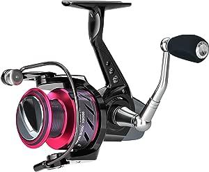 Ultraleichte Angelrolle Glatte Spinnradrolle Mit Magnesiumlegierungs-Unterst/ützung Komfortabler Handgriff Flexible /Übertragung Kraftvoller Zug F/ür Das Seefischen