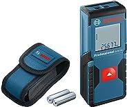 Bosch Professional GLM 30 Laserafstandsmeter, Meetbereik 30 m, 2 x 1,5 V Batterijen, Beschermtas, Blauw