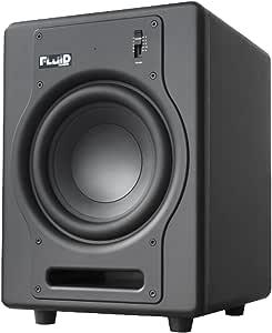 Fluid Audio F8S–Subwoofer, Noir