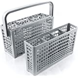 Panier couvert lave vaisselle Plemont [23 x 8,5 &4,5 x 13,5cm]. Panier lave vaisselle avec solution innovante 2 en 1 – Panier