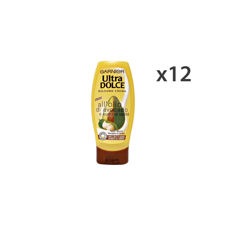 GARNIER Set 12 Ultradolce Balsamo Avocado-Karite´ Crespi-Ricci 200 Ml. Capelli