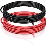 DCSk 1,5mm² - 10m - automobiel kabel FLRY B asymmetrisch - 1,50 mm² - automobiel kabel streng - set kleur rood/zwart - 10 m r