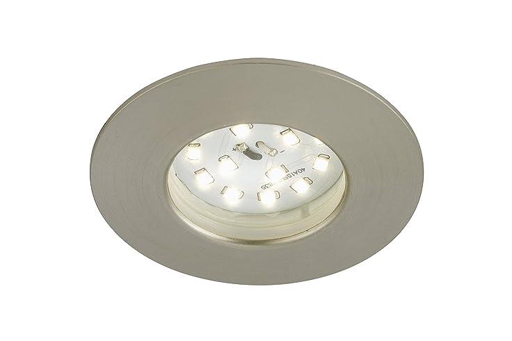 Briloner Leuchten 7234 012 LED Außenleuchte, Außenlampe, LED Einbauleuchte,  Einbaustrahler, LED Strahler, Spots, Deckenstrahler, Deckenspot, Lampen  Garten, ...