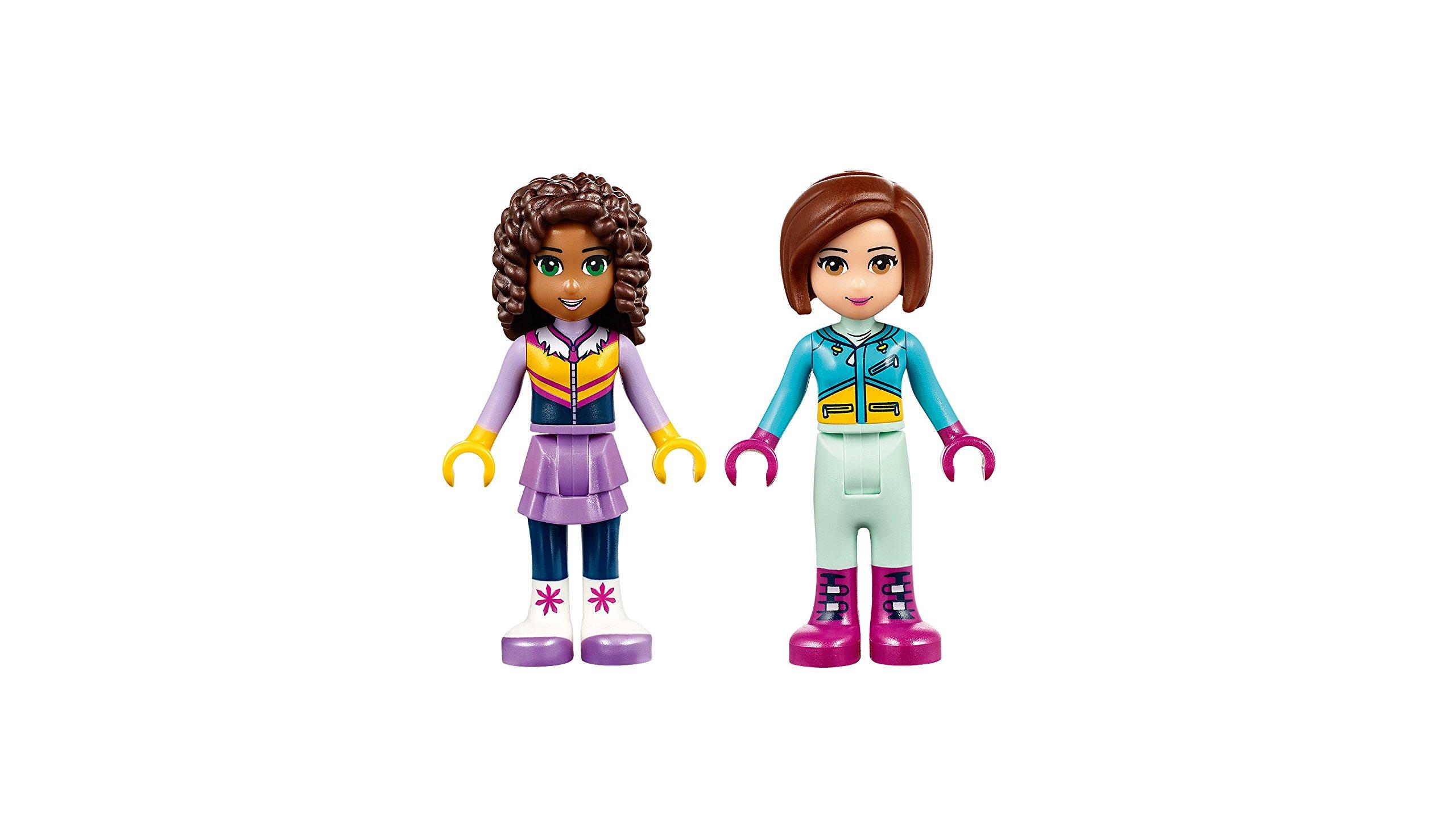 LEGO- Friends Lo Chalet del Villaggio Invernale, Multicolore, 41323 5 spesavip
