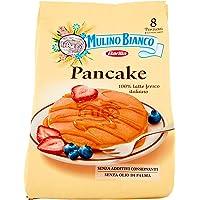 Mulino Bianco Pancake, per Colazione e Merenda, Senza Olio di Palma e Additivi Conservanti - Confezione da 8 Porzioni…
