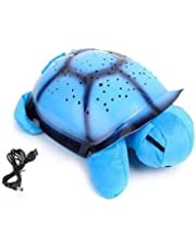 BLISS by MULTY CHOSE Turtle Shaped Projector Table Lamp (Multicolour)