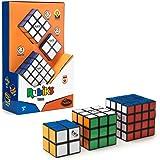 ThinkFun- Juego Gift: Trio, el Set Aficionados de Rubik'S Master 4x4, el Original Rubik 's 3x3 y el Mini 2x2. (76422)