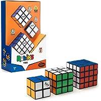 ThinkFun 76422 Set Cadeau Trio, Le Cadeau Parfait pour Les Fans Contient Master 4 x 4, Le Cube Magique Original 3 x 3 et…
