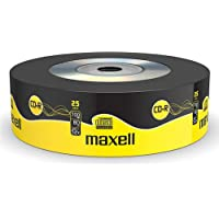 Maxell CD-R 25 Blank Discs 700MB Extra Protection