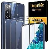 [3-pak] UniqueMe dla Samsung Galaxy S20 Fan Edition / S20 FE 5G (nie do Samsung Galaxy S20) szkło hartowane i [2-pak] osłona