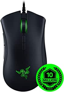 RAZER DeathAdder Elite - Souris Gaming Mouse, Boutons de Souris Mécaniques, Capteur 16.000 dpi & Rétroéclairage RGB