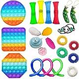 ZhaZhaMeng Sensory Fidget regolato giocattoli di distensione della tensione e anti-ansia Strumenti Bundle sensoriali Giocatto