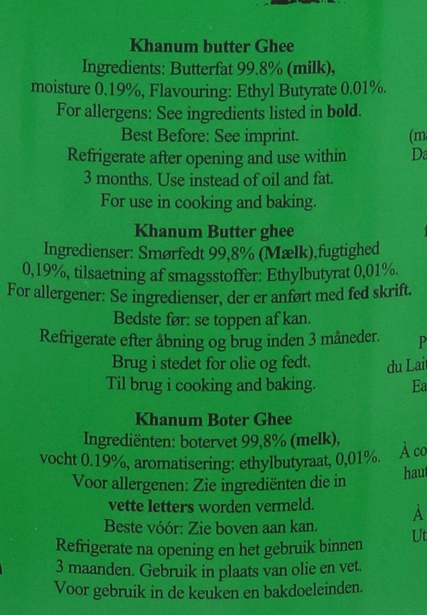 Khanum Butter Ghee 1 Kg 3