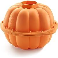 Lékué Moule Citrouille 3D Orange 2300 ml Celebrate
