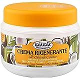 Milmil - Crema Rigenerante, All' Olio di Cocco, Impacco Ammorbidente Per Capelli Lunghi e Medio Lunghi - 500 ml