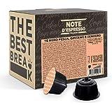 Note d'Espresso - Thé Pêche, Ginseng et Gingembre - Capsules Exclusivement Compatibles avec les Machines NESCAFE* DOLCE GUSTO