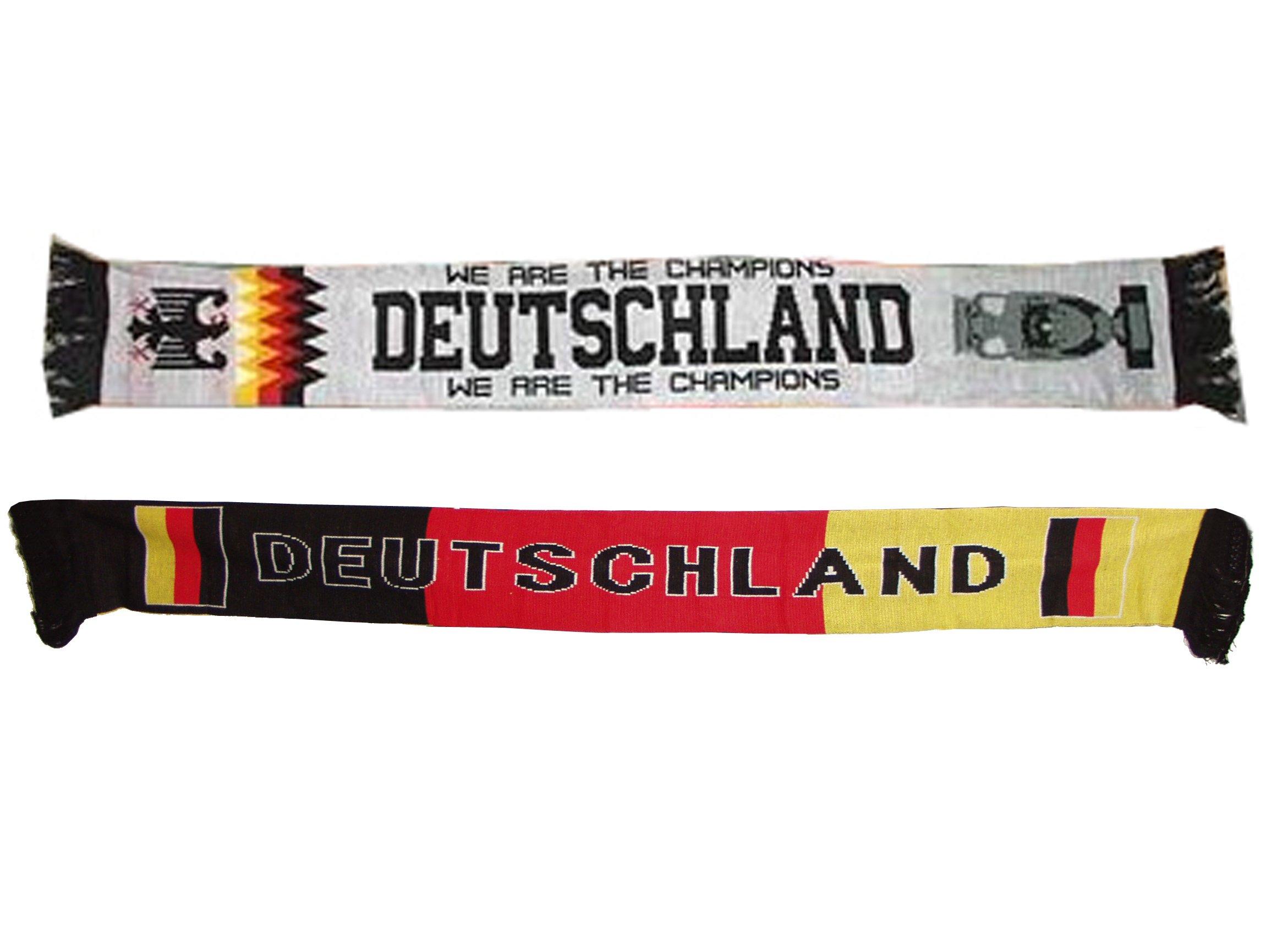 Brubaker - Sciarpa della Germania, confezione da 2