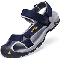 CAMEL CROWN Men's Sports Outdoor Sandals Summer Casual Athletic Beach Shoes Closed-Toe Fisherman Breathable Hiking Anti…