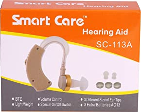 Smart Care SC-113A Hearing Amplifier with Lower Background and High Sound Again