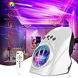 LED Projektor Lampe mit Bluetooth, Lampe Sternenhimmel ESHUNQI LED Sternenhimmel mit Fernbedienung, Helligkeit einstellbar un