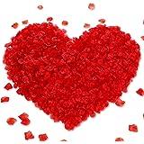 Inrali (300pcs) Artificial Silk Rose Petals Decoration Wedding Party,Rose Petals Silk Petals Scatter Petals for Wedding Table