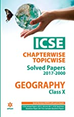 ICSE Chapterwise-Topicwise Solved Papers Geography Class 10th