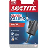 Loctite Super Glue 3 - Colla con pennello, 5 g