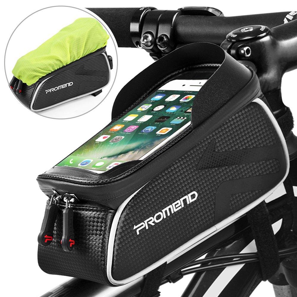 Defe borsa bici telaio borse bicicletta manubrio for Amazon oggettistica