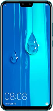Huawei Y9 2019 Smartphone, Dual SIM 64GB 4GB RAM 4G LTE - Sapphire Blue