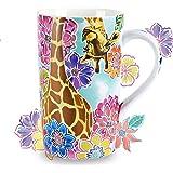 Nymphfable 18oz Keramische Koffiemok Giraffe Koffiekopjes Beker Theekop Cappuccinokop Cadeau