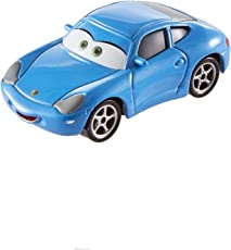 Mattel Disney Cars FJH98 3 Die-Cast Sally Carrera Fahrzeug
