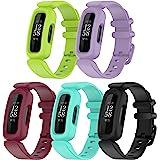 (5-pack) Chofit vervangende riemen compatibel met Fitbit Ace 3 riem, zachte siliconen sport verstelbare flexibele polsbandjes