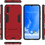 Case for Samsung a70 cover case with holder Red
