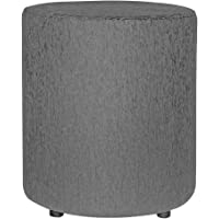 Siwa Style Barrel 30464 Pouffes Sitting Round upholstered Foam Cushion Ottoman Living Room Foot Rest Home (LXBXH…