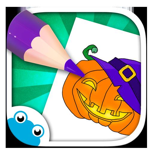 Chocolapps Art Studio - Zeichnen und Ausmalen für - Halloween Kunst Vorschule