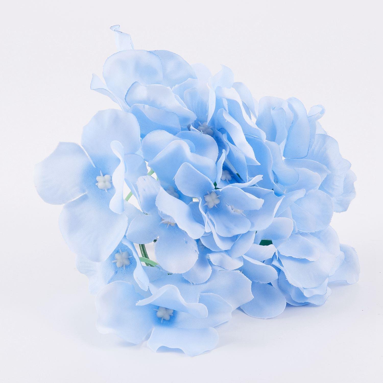 Toogoo Flores De Seda Decoracion De La Boda Flores Artificiales De Estilo De Primavera Vistosa Hortensia Grande Flores De La Decoracion De Boda De